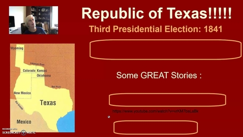 Thumbnail for entry Republic of Texas! Part Two