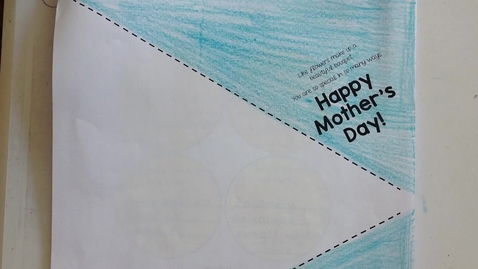 Thumbnail for entry 2nd Grade Mother's Day Bouquet