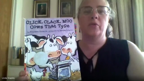 Thumbnail for entry Click Clack Moo Cows That Type - Mrs. Staples