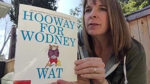 Thumbnail for entry Hooway for Wodney Wat - Mrs. Martin-Baker