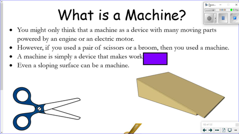 Thumbnail for entry Work and Simple Machines Part 2.wmv