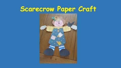 Thumbnail for entry Scarecrow craft