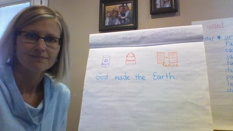 """Thumbnail for entry Monday 4/20: Writer's Workshop """"How I take Care of the Earth"""""""