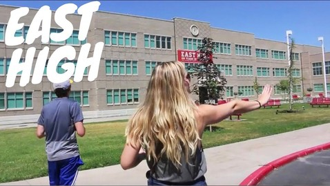 Thumbnail for entry TOUR OF EAST HIGH (High School Musical School)