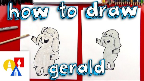Thumbnail for entry How To Draw Gerald