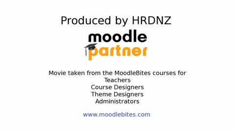 Thumbnail for entry Moodle  Databases Part 1