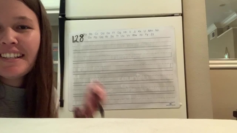 Thumbnail for entry Spelling Lesson 128