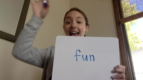 Thumbnail for entry Sight Words Week of 5/4