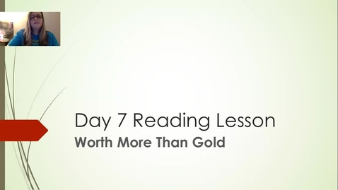 Thumbnail for entry reading lesson 7