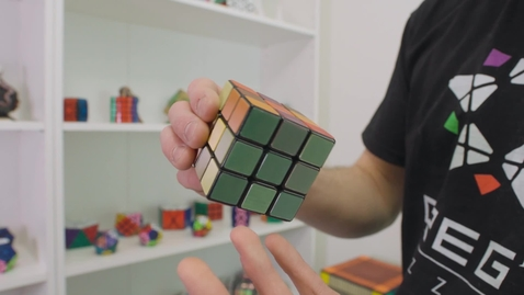 Thumbnail for entry Largest order Rubiks - magic cube