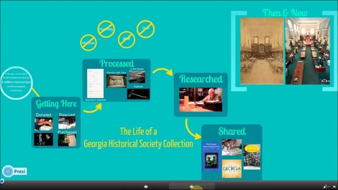 Thumbnail for entry The Life of a Georgia Historical Society Collection