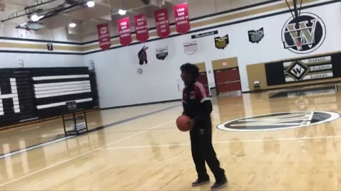 Thumbnail for entry Kamari, Eddie and Nae Basketball - WSCN (Sem 2 2017)