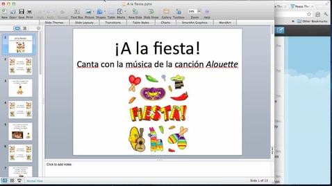 Thumbnail for entry A la fiesta