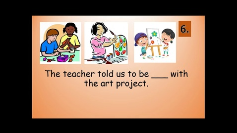 Thumbnail for entry Second Grade Journeys' Lesson 12 VOCABULARY REVIEW SENTENCES for Ah, Music!