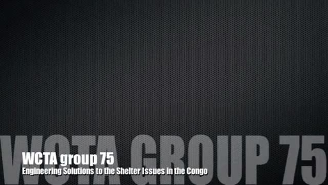Thumbnail for entry Congo 2013 PSA Group 75