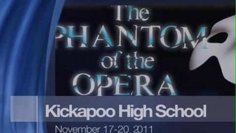 Thumbnail for entry DocuStory - Phantom of the Opera at Kickapoo - ChiefTV 2011