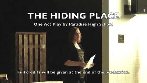 Thumbnail for entry The Hiding Place (OAP of PHS)