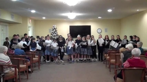 Thumbnail for entry St. Louis School Glee Club at the Legacy 12-6-17
