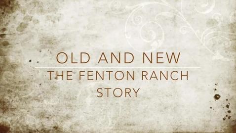 Thumbnail for entry Fenton Film 2014 #13