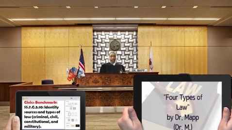 Thumbnail for entry Rap Lyrics for Four Types of Law