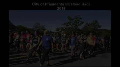 Thumbnail for entry Presidents 5k Road Race