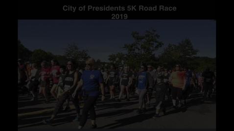 Thumbnail for entry Presidents 5k Road Race
