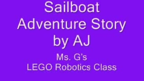 Thumbnail for entry LEGO Robotics: WeDo: Adventure Story Extension