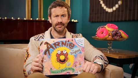 Thumbnail for entry Arnie the Doughnut read by Chris O'Dowd