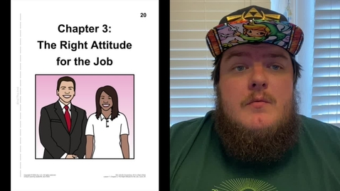 Thumbnail for entry Chapter 3 - The Right Attitude for the Job