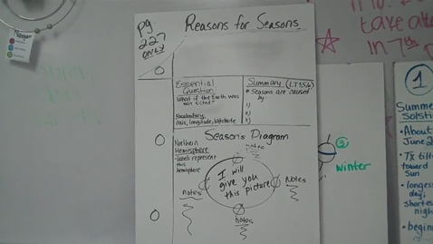Thumbnail for entry Reasons for the Seasons