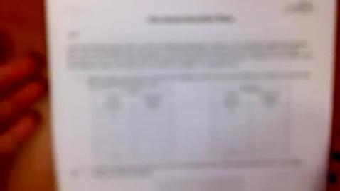 Thumbnail for entry Algebra I 12-4-13