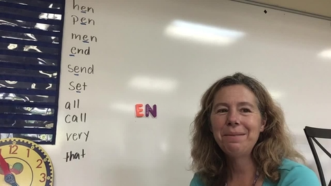 Thumbnail for entry Short E spelling words