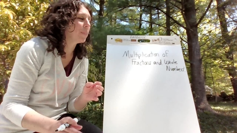 Thumbnail for entry Multiplication of Fractions and Whole Numbers Day 1.webm