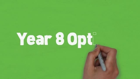 Thumbnail for entry Year 8 Options 2014