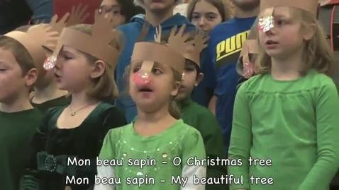 Thumbnail for entry Mon beau sapin (Holiday Sing-A-Long)