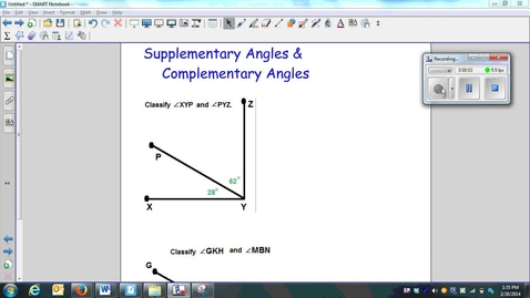Thumbnail for entry Supplementary Angles & Complementary Angles-week 5-Q5-Q6