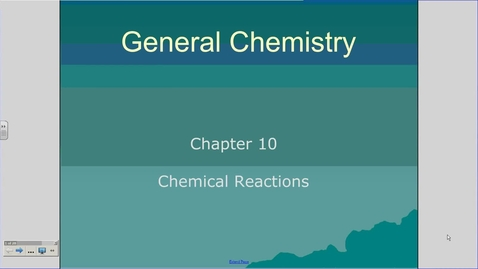 Thumbnail for entry Mr. Matchell chapter 10.1 podcast chemical equations fill in notes