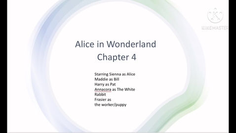 Thumbnail for entry Alice in wonderland chapter 4