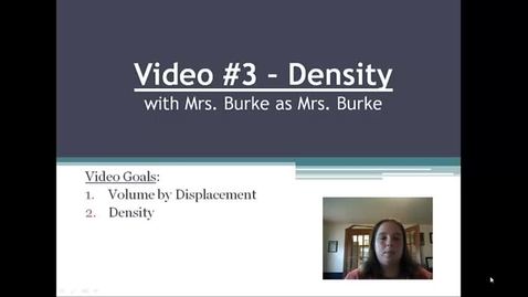 Thumbnail for entry Burke Video 3 Density