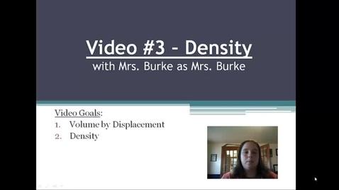 Thumbnail for entry Burke Video 3 Density
