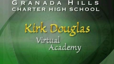 Thumbnail for entry The Virtual Academy at Kirk Douglas