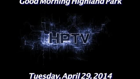 Thumbnail for entry Tuesday, April 29, 2014