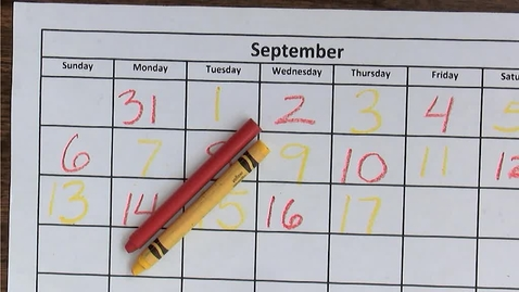 Thumbnail for entry 9.18 Calendar