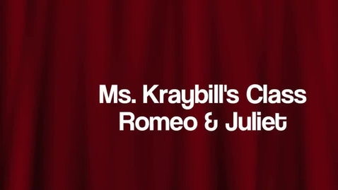 Thumbnail for entry Romeo and Juliet 2014