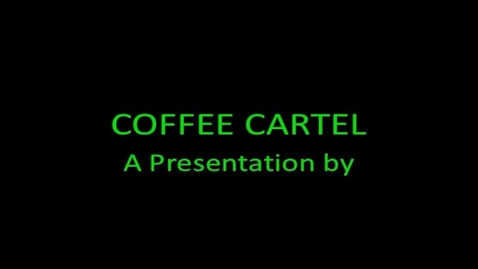 Thumbnail for entry Coffee Cartel