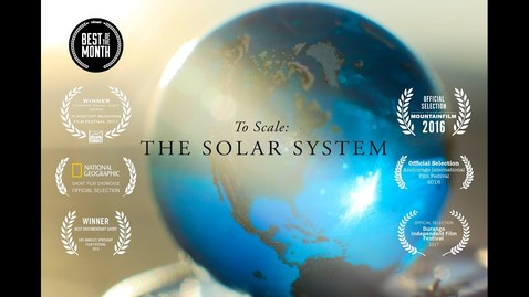 Thumbnail for entry To Scale: The Solar System