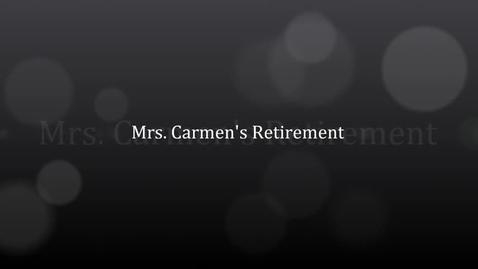 Thumbnail for entry Carmen's Retirement show