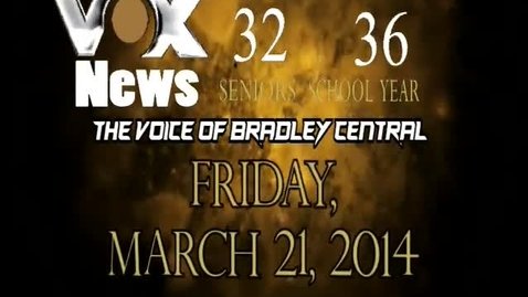 Thumbnail for entry VOX News for Friday, March 21, 2014