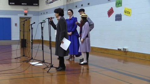 Thumbnail for entry St. Louis School - Mary Poppins Visits 3-6-18