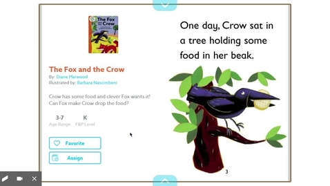 Thumbnail for entry The Fox and the Crow